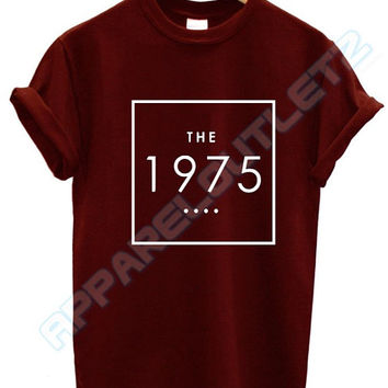 the 1975 box t shirt swag dope tumblr facedown album tour matt healy fashion tumblr unisex fangirl band new