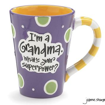 What's your Super Power? I'm a Grandma Mug with Gift Box