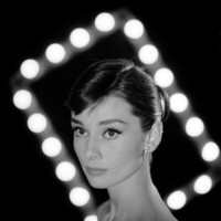 Portrait of Actress Audrey Hepburn Premium Photographic Print by Allan Grant at eu.art.com