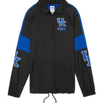 University Of Kentucky Half-Zip Anorak - PINK - Victoria's Secret