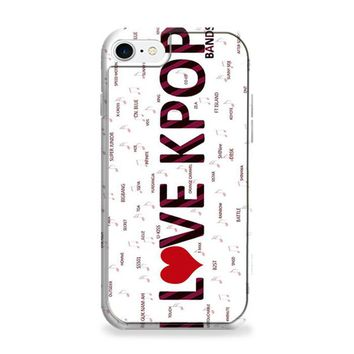 I Love Kpop Bands iPhone 6 | iPhone 6S Case