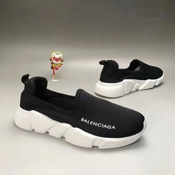 balenciaga summer fashion casual breathable mesh surface unisex sneakers couple runn 4
