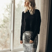Holiday Party Pencil Skirt