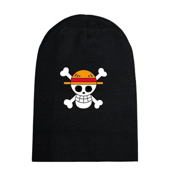 Anime Winter Skullies Beanies Knitted 17 Anime Styles