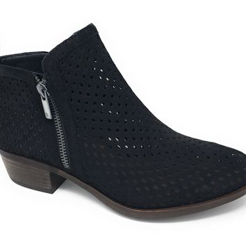 Lucky Brand Basel 3 Black Booties