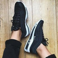 NIKE AIR MAX 97 Sport Shoes Women Men Sneakers Running Shoes-1