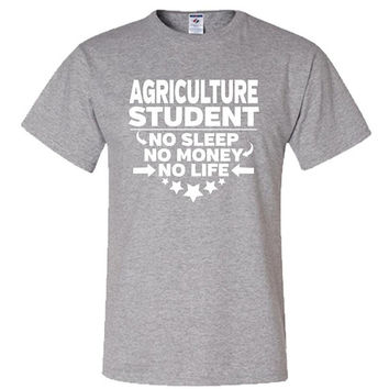Agriculture Student T-shirt College Majors Tee Shirt Gift For College Student College Degree Gifts Adult Unisex Shirt