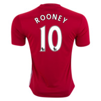 Manchester United Rooney 10 Home Soccer Jersey 2016/17
