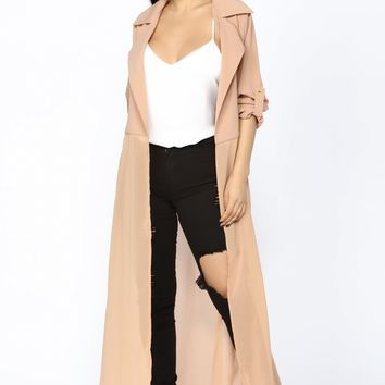 Keeping It Cozy Jacket - Taupe