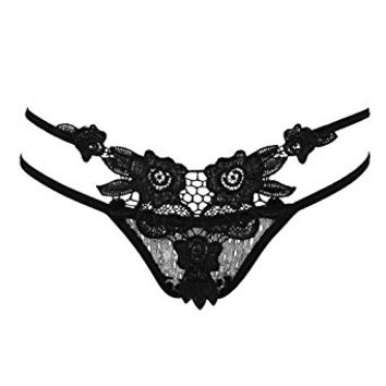 DDLBiz Women's Sexy Hollow Out Thongs G-string Lingerie Underwear Panties