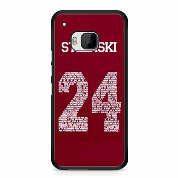 Stiles Quote Jersey Stilinski HTC M9 Case