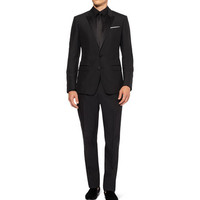 Dolce & Gabbana Black Martini Wool-Blend Tuxedo | MR PORTER
