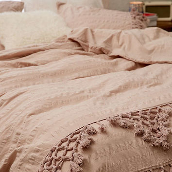 Xandra Trim Duvet Cover | Urban Outfitters