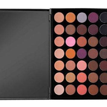 Morphe Pro 35 Color Eyeshadow Makeup Palette - Matte (Highly Pigmented) 35N