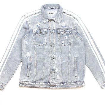 World Tour Denim Jacket (Ice Blue)