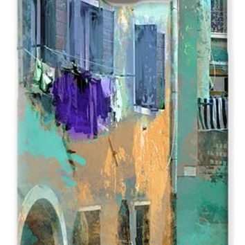Venice Washday In Blue Galaxy S6 Case for Sale by Suzanne Powers