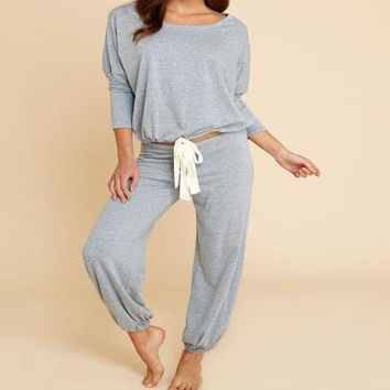 Plain Casual Two Piece B0013500