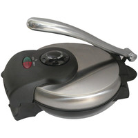 Brentwood Tortilla Maker With Stainless Steel Finish