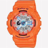 G-Shock Baby-G Ba110sn-4A Watch Orange One Size For Women 26022970001