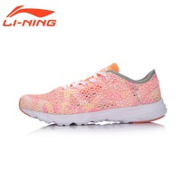 Li-Ning Brand Women Running Shoes Light Weight Textile&TPU Sports Shoes Breathable 2017 Summer Female Sneakers LiNing ARBM018