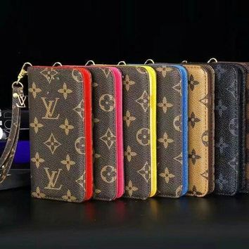 LV Fashion iPhone Phone Cover Case For iphone 6 6s 6plus 6s-plus 7 7plus hard shell G