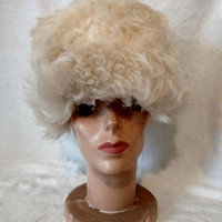 Vintage Alpaca Cap Winter Hat