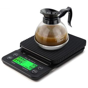 Portable 3kg, 0.1g High Precision LCD Electronic Scales