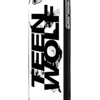 Teen Wolf Creatures Of The Night Logo Black White iPhone 6 Case Hardplastic Frame Black Fit For iPhone 6