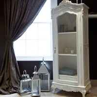 Chateau Book Cabinet - Rose & Grey, Vintage Leather Sofas and Stylish Accessories