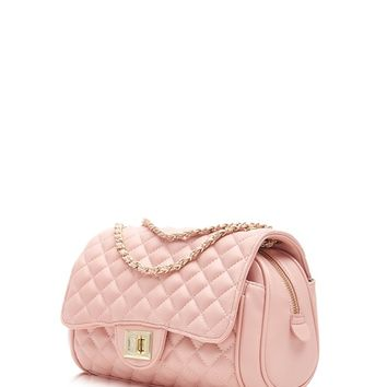 Marc B Quilted Classic Cross Body