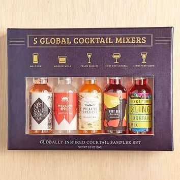 5-Piece Global Cocktail Mixer Set