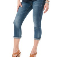 Motherhood Maternity: Under Belly Back Pockets Maternity Jeans