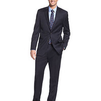 Lauren by Ralph Lauren Suit Separates, Navy Solid - Suits & Suit Separates - Men - Macy's