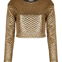 Gold Quilted Top