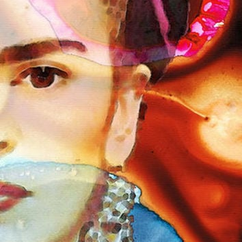 Frida Kahlo Art - Seeing Color Poster