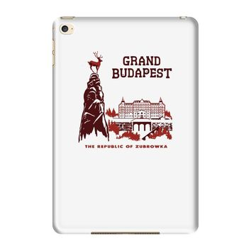 grand budapest hotel iPad Mini 4