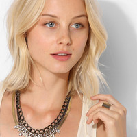 Cornwall Chain & Rhinestone Necklace  - Urban Outfitters