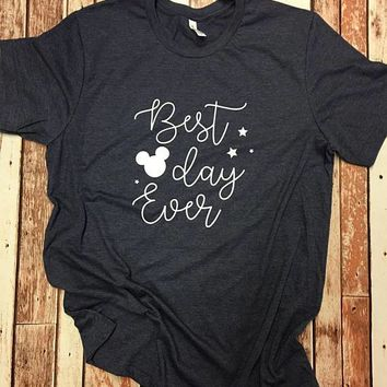Best Day Ever Disney Mickey Vacation tee ahirt t-shirt