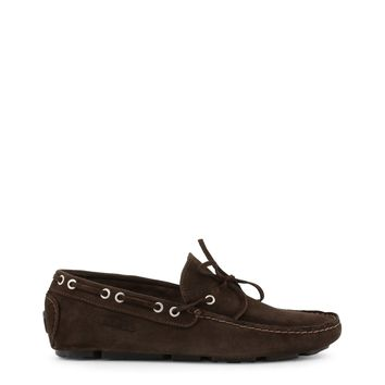 2a072daef79 Sparco Men s Suede Brown Loafers Moccasins
