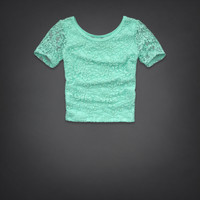 Surfers Knoll Lace Top