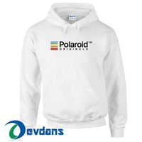 Polaroid Originals Hoodie Unisex Adult Size S to 3XL
