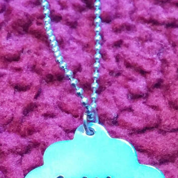 CAITLYN cupcake name necklace