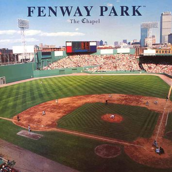 Boston Red Sox Fenway Park The Chapel Poster 22x34
