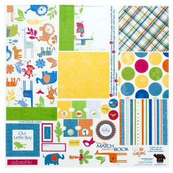 Baby Boy Matchbook Album Kit