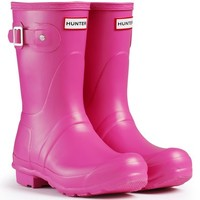 Womens Hunter Original Short Winter Waterproof Wellingtons Rain Boots