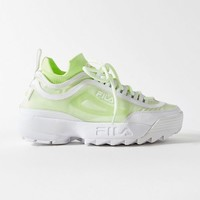 FILA UO Exclusive Disruptor 2 Sock Mesh Sneaker | Urban Outfitters