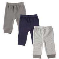 Luvable Friends 3-Pack Tapered Ankle Pants | Affordable Infant Clothing