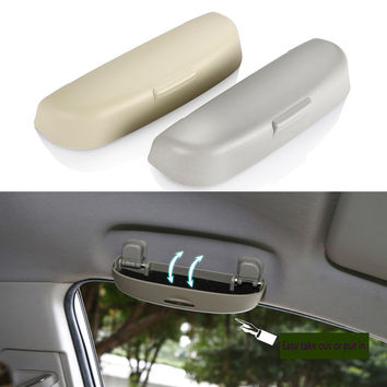 Car-Styling Car Glasses Box Case Holder For Renault Duster Jeep Compass Car Styling Accessories For Volvo S90 XC90 S80L V60 V40