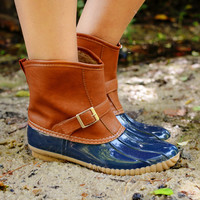 Samba Duck Boot Navy