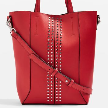 SARAH Stud Mini Tote Bag - Bags & Wallets - Bags & Accessories